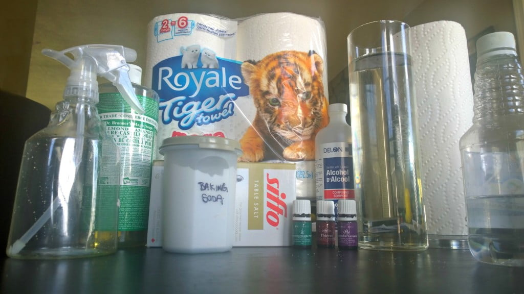 Tiger Towels cleaning supplies