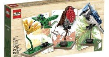 LEGO Ideas 21301 Birds Model Kit