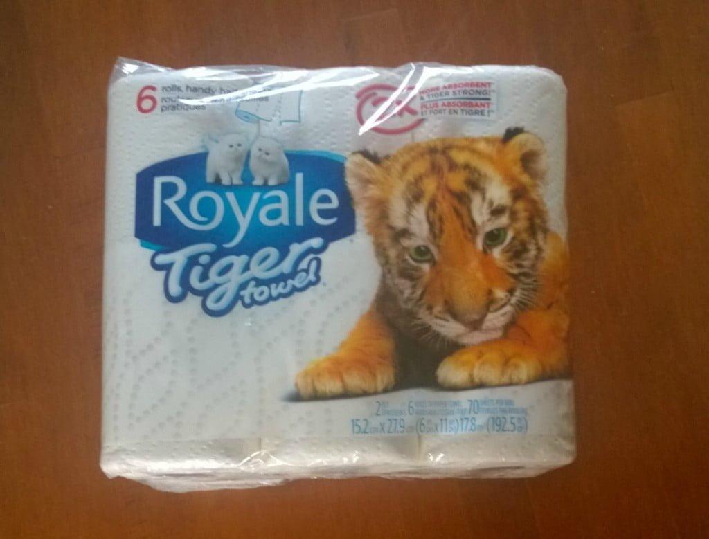 Royale Tiger Towel
