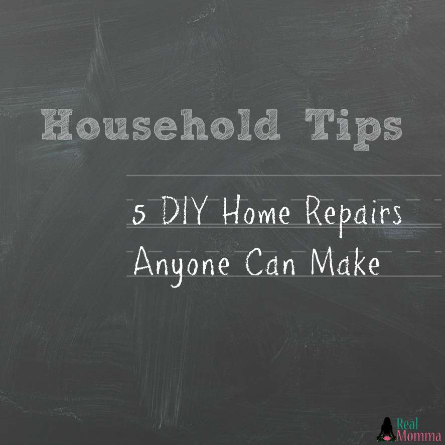 5 DIY Home Repairs Anyone Can Make