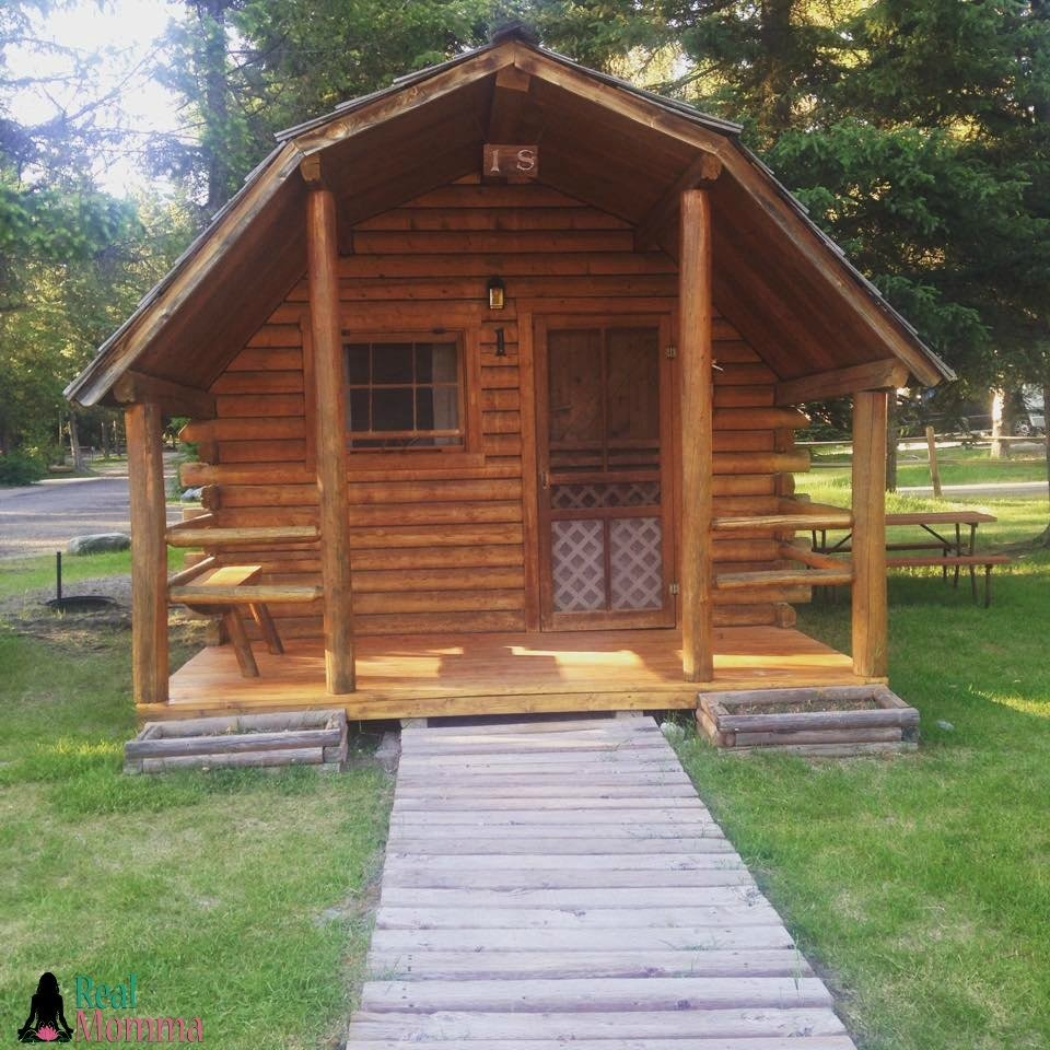 Middle Sister Celebration  Camping Cabin