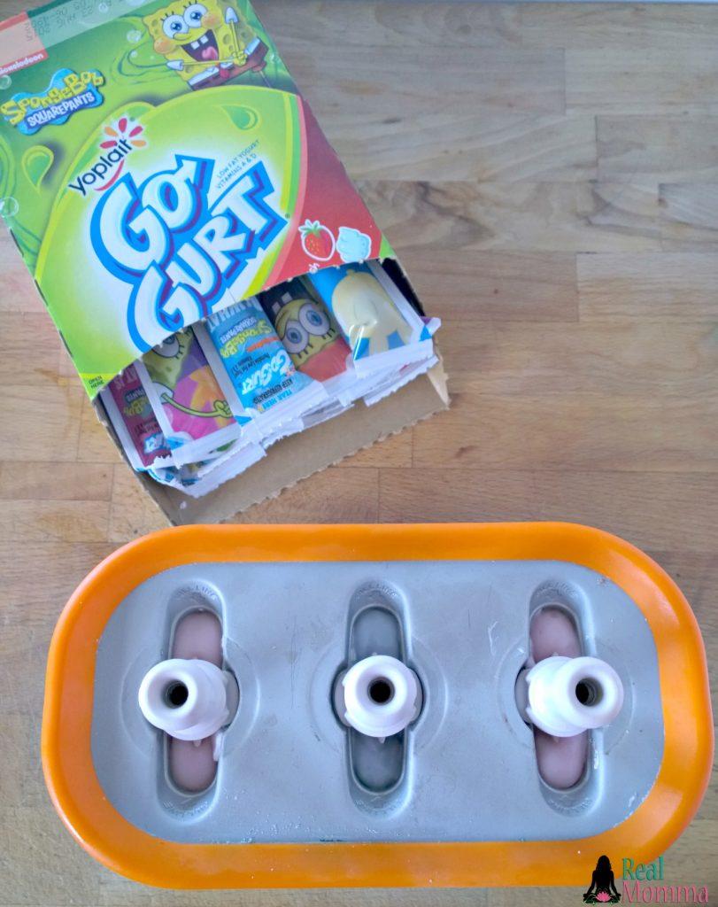 GoGurt Popsicles