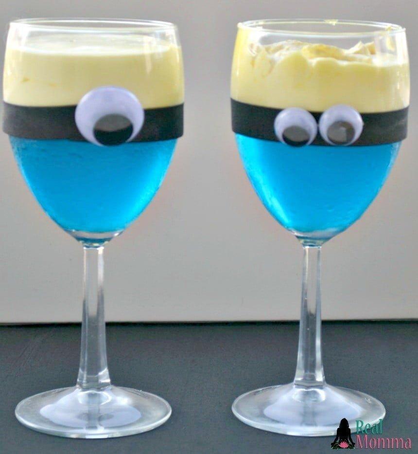 Minion Dessert Cup Recipe