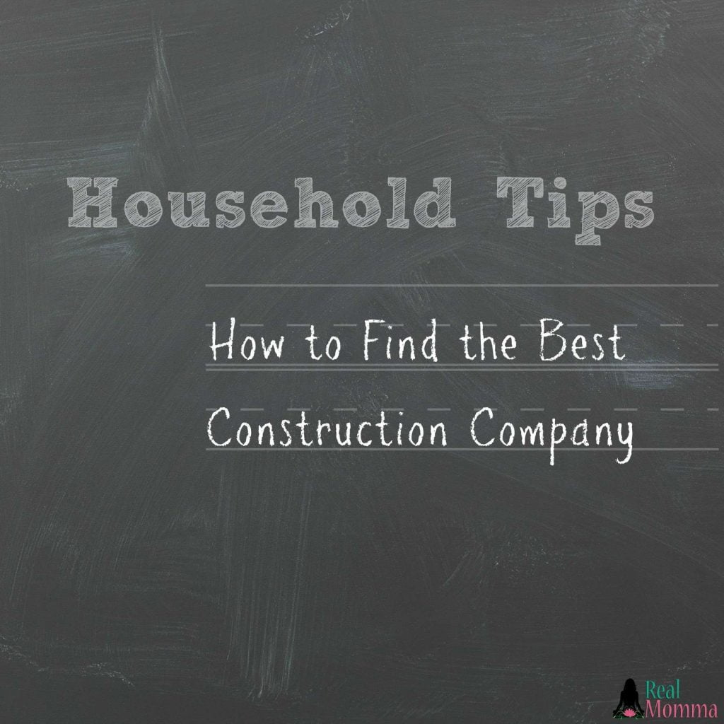 How to Find the Best Construction Company