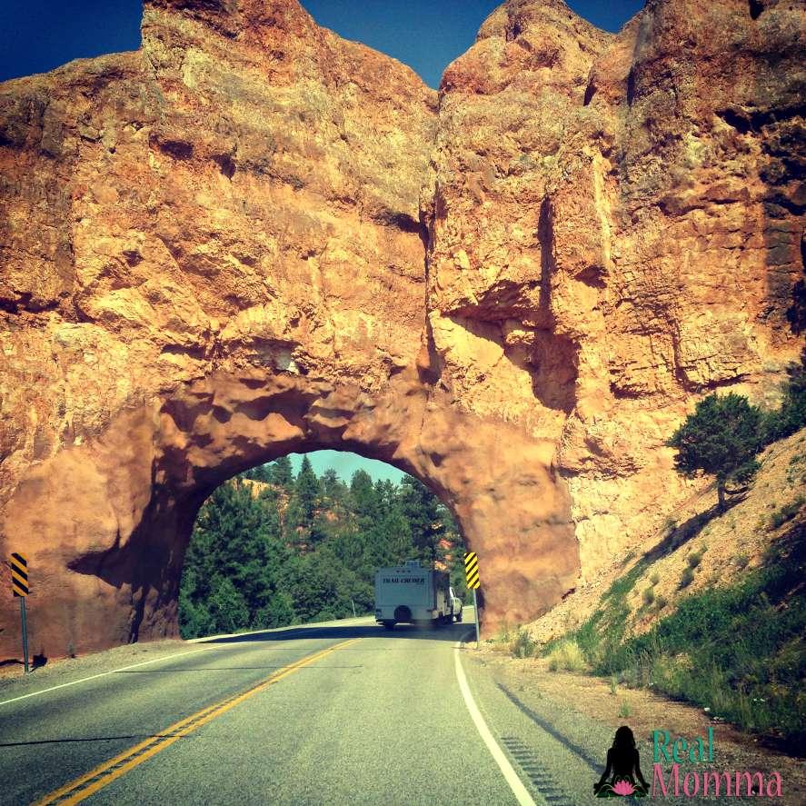 Rock Tunnel in Utah