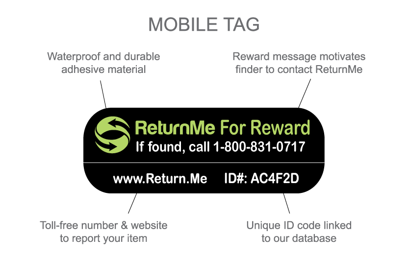 ReturnMe Recover Tag