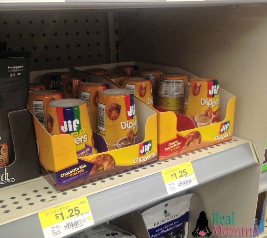 jif to go dippers at the till