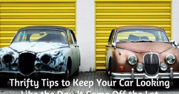 Thrifty Tips to Keep Your Car Looking Like the Day It Came Off the Lot
