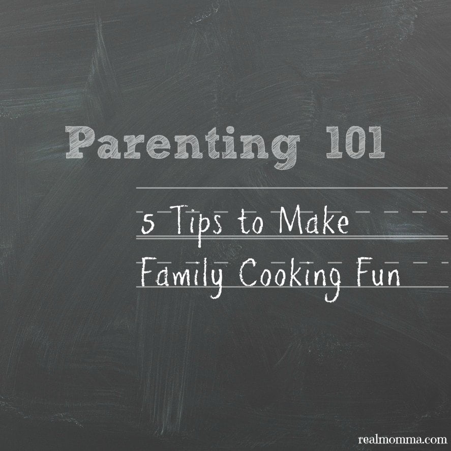 5 Tips to Make Family Cooking Fun