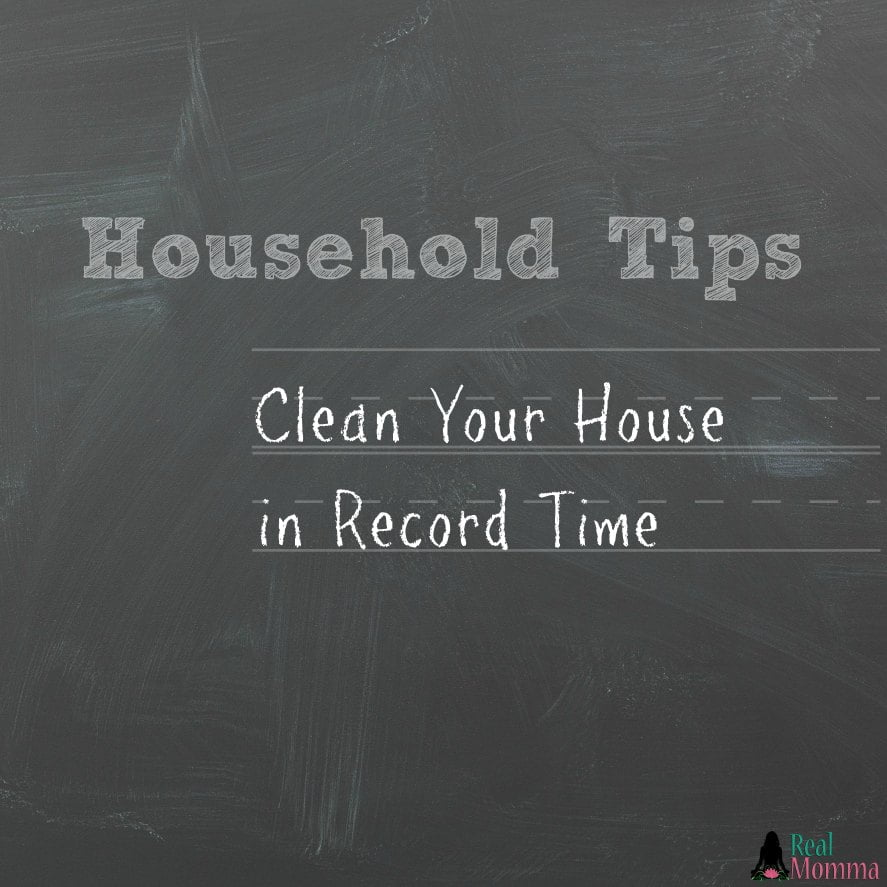 Simple Tips to Clean Your House in Record Time