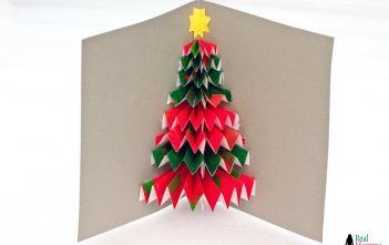 DIY 3D Christmas Tree Card