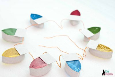 DIY Christmas Lights Garland step 13