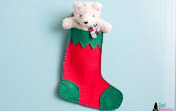DIY Christmas Stocking for Gift Giving