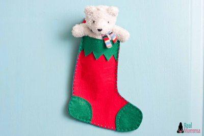 DIY Christmas Stocking for Gift Giving