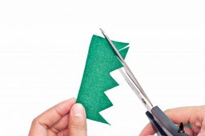 DIY Christmas Stocking for Gift Giving step 6