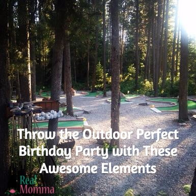 Throw the Outdoor Perfect Birthday Party with These Awesome Elements
