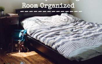 How to Keep a Teenager's Room Organized