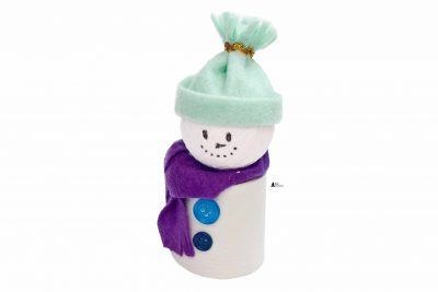 DIY Upcycled Snowman Craft