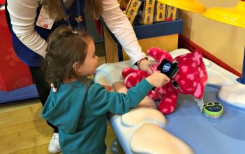 Pamper session at Build A Bear
