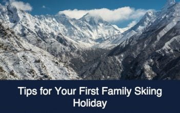Tips for Your First Family Skiing Holiday