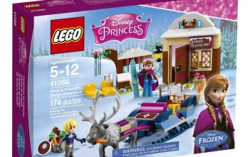 LEGO Disney Anna and Kristoff's Sleigh Adventure Building Kit Review