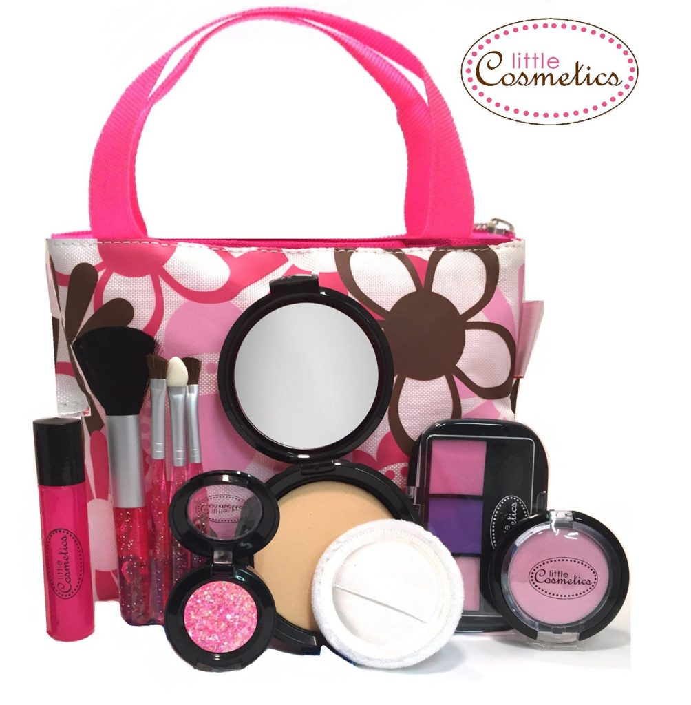 Little Cosmetics Pretend Makeup Essential Set Review Real Momma