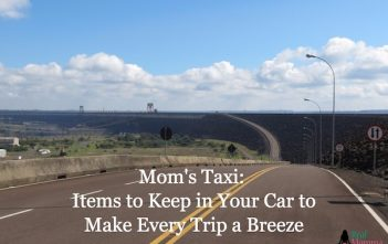 Mom's Taxi: Items to Keep in Your Car to Make Every Trip a Breeze