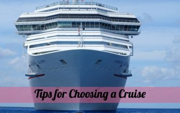 Tips for Choosing a Cruise
