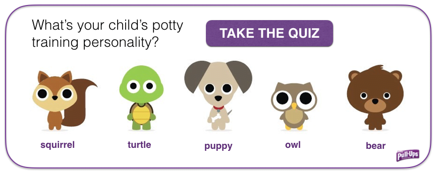 Pull Ups Potty Training Personality Quiz