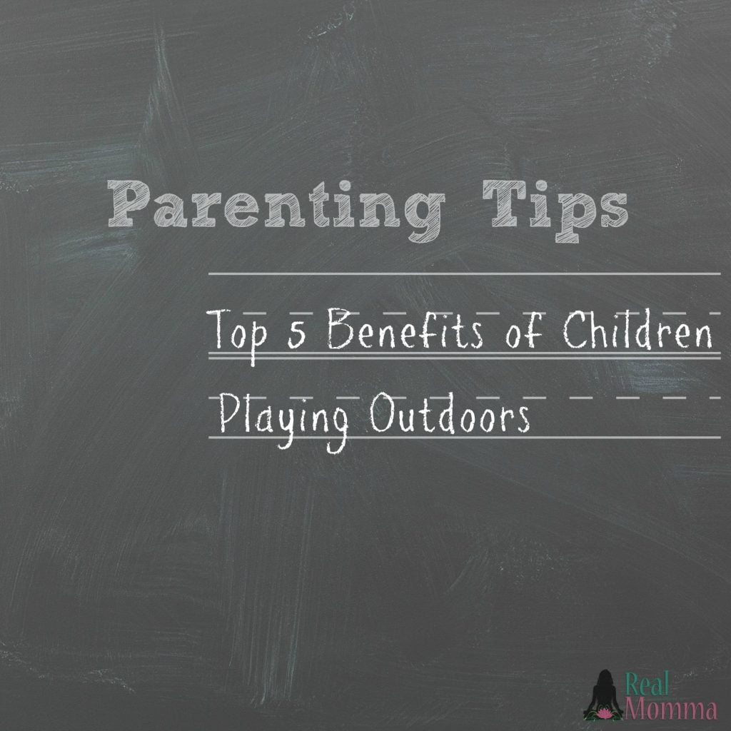 Top 5 Benefits of Children Playing Outdoors