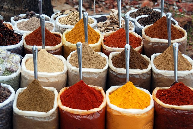 flavors and spices