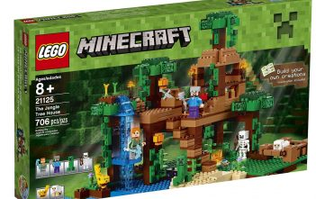 LEGO Minecraft the Jungle Tree House Review