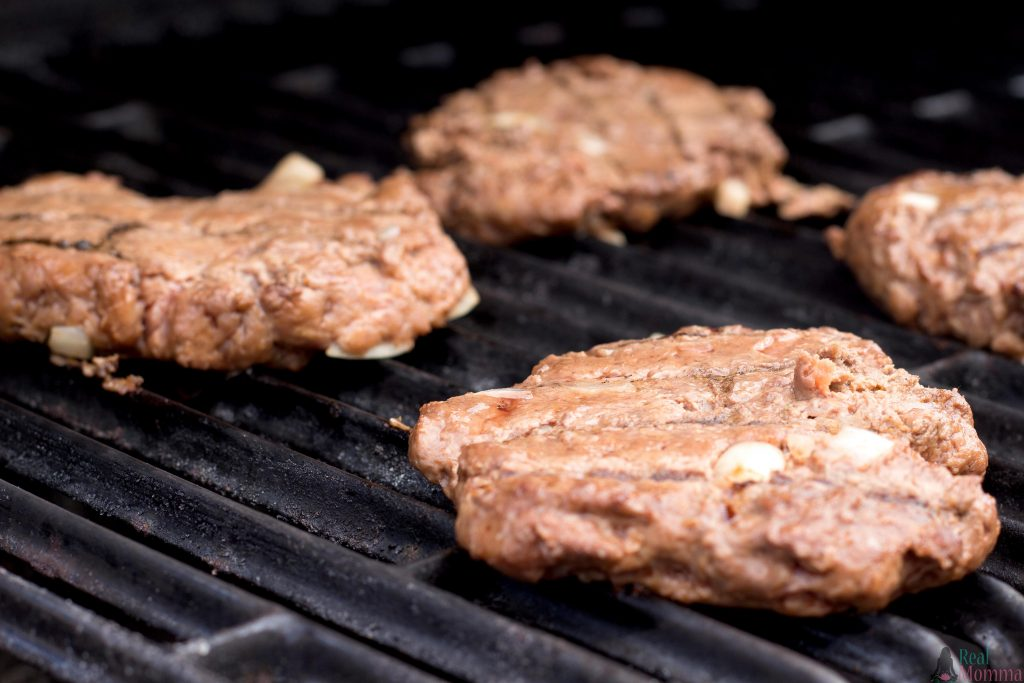 Grilling the Burgers