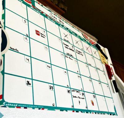 fathead one month calendar