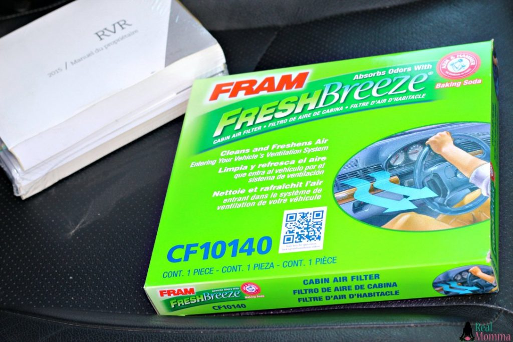 Owner's Manual and FRAM Fresh Breeze
