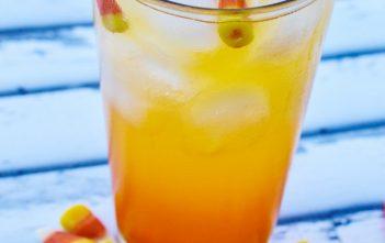 Candy Corn Mocktail Recipe