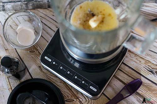 liquid ingredients in Braun PureMix