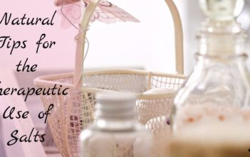 Natural Tips for the Therapeutic Use of Salts