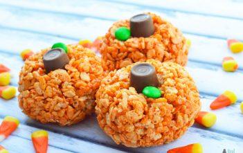 Rice Krispie Pumpkins Recipe