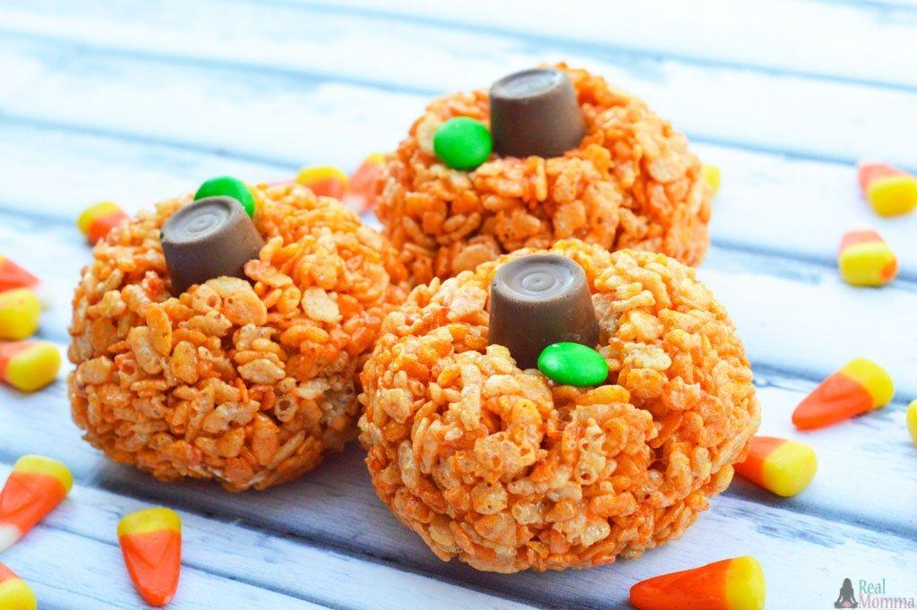 Rice Krispie Pumpkins Recipe Real Momma