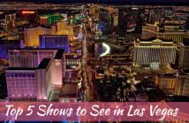 Top 5 Shows to See in Las Vegas