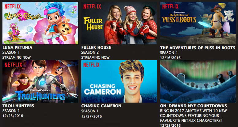 new Family friendly shows on Netflix