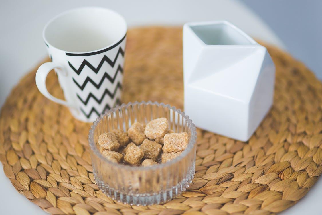 coffee mug tea sugar