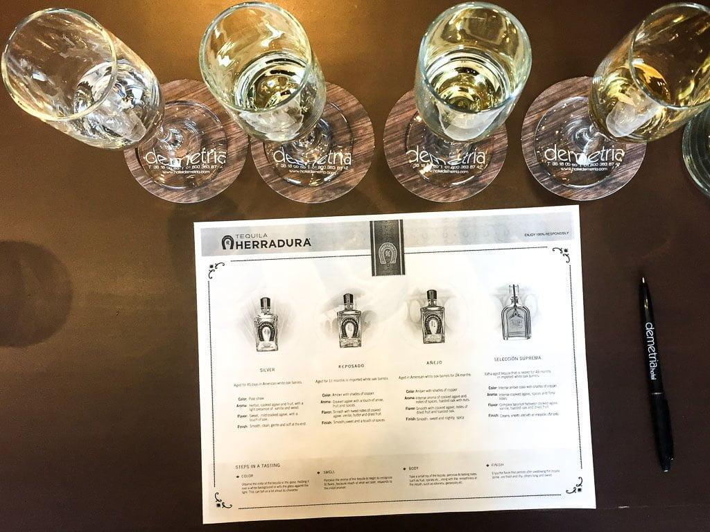 Tequila Tasting with Herradura