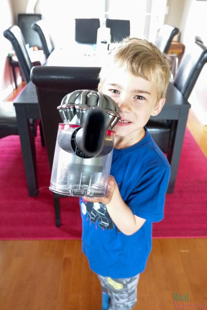 The Allergy Friendly Dyson V8 Absolute
