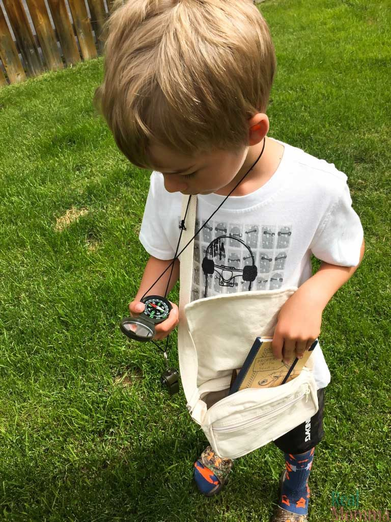 Become an explorer with the great adventure kit
