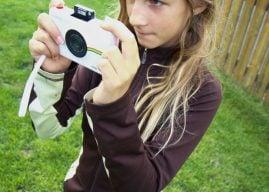 The Kid-Friendly Polaroid Snap Touch
