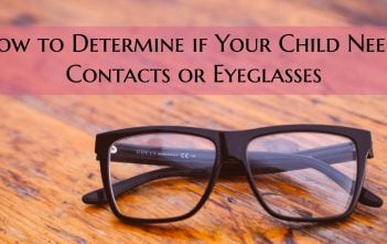 Squinting Kids: How to Determine if Your Child Needs Contacts or Eyeglasses