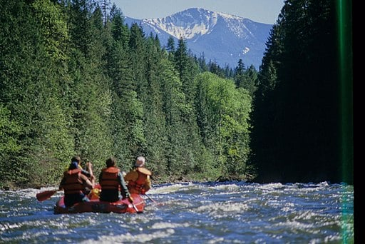 Moyie River Rafting