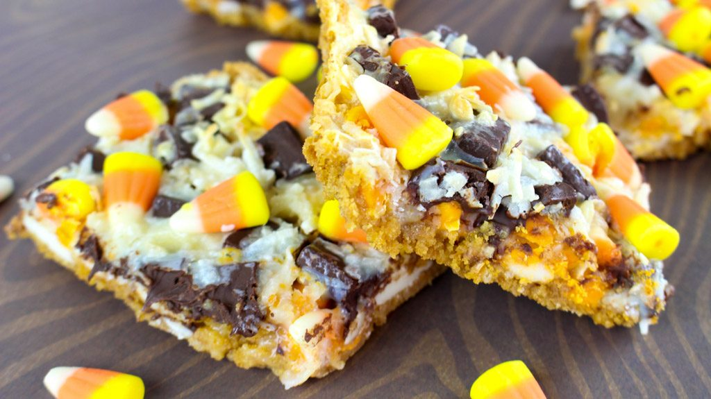 Magic Candy Corn Bars